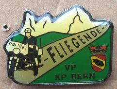 POLICE DE LA VILLE DE BERNE - SUISSE - POLIZEI BERN STADT SCHWEIZ - FLIEGENDE - MOTARD - MOTO -VP KP -      (15) - Police