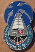 VERKEHRSDREHSCHEIBE SCHWEIZ - BASEL - BATEAU - BÂLE - SUISSE - PENICHE   -      (16) - Boats