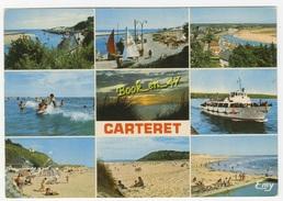 {57535} 50 Manche Carteret , Multivues ; Divers Aspects - Carteret