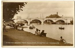 UK 227 - Kingston Brigde, From Midlesex, Kingston-on-Thames - London Suburbs