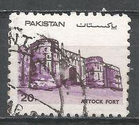 Pakistan 1984. Scott #616 (U) Attock Fort - Pakistan