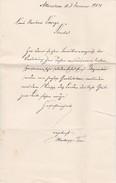 Alter Brief - Allenstein - Ostpreussen - 1914  (32504) - Historische Dokumente