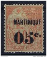 Martinique:  Yv Nr  14 MH/* Falz/ Charniere - Ongebruikt
