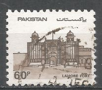 Pakistan 1984. Scott #618 (U) Lahore Fort - Pakistan