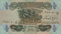 IRAQ 1/4 DINAR 1979 PICK 67a UNC - Iraq