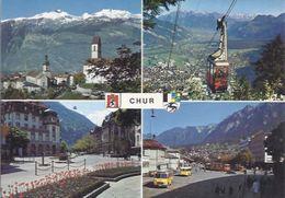 Chur - Mehrbild (4)  **AK-*93502* - GR Graubünden