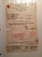 COURRIER AMERICAN RED CROSS De HANNAH LYONS (CROIX ROUGE USA) 26 SEPT 1944 - Seals Of Generality
