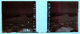 PHOTO STEREO SUR PLAQUE DE VERRE - ALSACE - LE PETIT BALLON ET FERMES DE RENSPACH - RANSPACH - 10,6 X 4,4 Cm - Stereoscopic