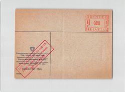 15847 HELVETIA EIDG. DEPARTMET DES INNERN SEKTION FUR HOLZ - Affrancature Meccaniche