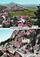 COTTANELLO (RI) - DUE VEDUTINE - F/G - V: 1967 - Italie