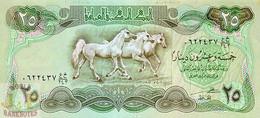 IRAQ 25 DINARS 1982 PICK 72 UNC - Irak
