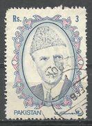 Pakistan 1989. Scott #715 (U) Mohammad Ali Jinnah - Pakistan