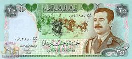 IRAQ 25 DINARS 1986 PICK 73 UNC - Irak
