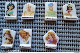 FEVES SERIE COMPLETE PRINCES ET PRINCESSES DISNEY PASQUIER - Disney