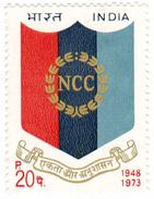 INDIA STAMPS, 1973, NCC, MNH - India