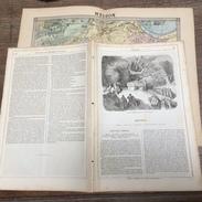 ENV 1870 ENVIRONS DE PARIS MEUDON SACRIFICES DRUIDIQUES DRUIDES BAS MEUDON RABELAIS CURE - Vieux Papiers