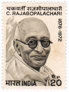 INDIA STAMPS, 1973, C. RAJAGOPALACHARI, MNH - India
