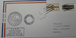ANTARCTIC COVER US IAGP South Pole January 16/84 - Cachets - Timbres