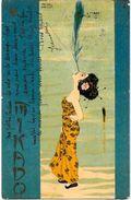 CPA Kirchner Raphaël Art Nouveau Femme Girl Circulé MIKADO Japon Japan Asie - Kirchner, Raphael