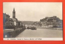 GATA-36  Verona  Castel San Pietro E Mulini Sull'Adige. Non Ha Viaggiata - Verona