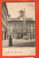 GATA-34  Piazza Monteciterio, Piazzale Del Parlamento, Pionier..  Viaggiata Verso La Svizzera In 1903 - Places & Squares