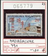 Madagaskar - Madagascar - Republique Malgache - Madagasikara - Michel 491 - Oo Oblit. Used Gebruikt - Madagascar (1960-...)