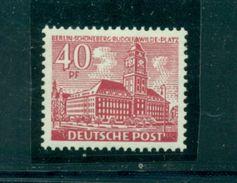 Berliner Bauten, Nr. 52 Postfrisch ** - Ungebraucht