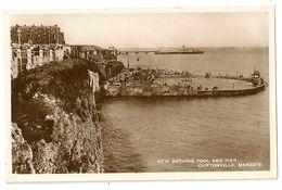 UK 274-  Margate - New Bathing Pool And Pier, Cliftonville - Margate