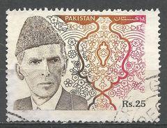 Pakistan 1994. Scott #818 (U) Mohammad Ali Jinnah - Pakistan