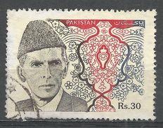 Pakistan 1994. Scott #819 (U) Mohammad Ali Jinnah - Pakistan