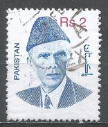 Pakistan 1998. Scott #894 (U) Mohammad Ali Jinnah - Pakistan