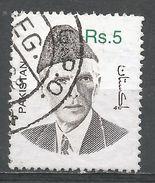 Pakistan 1998. Scott #897 (U) Mohammad Ali Jinnah - Pakistan