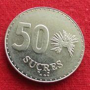 Ecuador 50 Sucres 1991 KM# 93 Equador Equateur - Ecuador