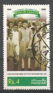 Pakistan 2006. Scott #1092d (U) Muslim League Cent. Jinnah And Wife - Pakistan