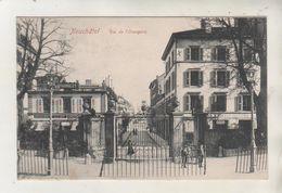 NEUCHATEL - Rue De L'Orangerie - Carte Rare - NE Neuchâtel