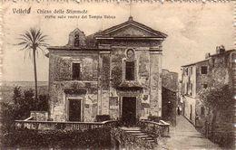 VELLETRI-ROMA-CHIESA DELLE STIMMATE-CARTOLINA VIAGGIATA IL 26-4-1920 - Velletri