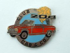 PIN'S PEUGEOT - CLUB 204 CAB & CO - Peugeot