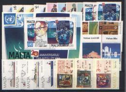 Malta 1987 Annata Completa / Complete Year Set **/MNH VF - Malte