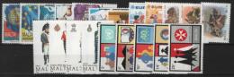 Malta 1989 Annata Quasi Completa / Almost Complete Year Set **/MNH VF - Malte
