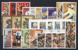 Malta 1995 Annata Completa / Complete Year Set **/MNH VF - Malte