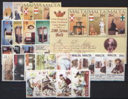 Malta 1997 Annata Completa / Complete Year Set **/MNH VF - Malte