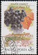 HUNGARY - Scott #3255 Cabernet Franc, Hojos-Vaskut / Used Stamp - Fruit
