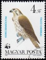 HUNGARY - Scott #2801 Falco Cherrug / Used Stamp - W.W.F.
