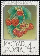 HUNGARY - Scott #3009 Raspberries / Used Stamp - Fruit