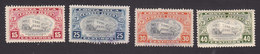 Costa Rica, Scott #C130-C133, Mint Hinged/Used, Hospital Of St John Of God, Issued 1946 - Costa Rica