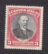 Costa Rica, Scott #C142, Mint Hinged, Ascension Esquivel, Issued 1947 - Costa Rica