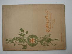 Catalogue Costellat Et Cie éditeurs De Musique 60 Rue Chaussée D'Antin - Frankrijk