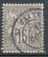 N°66 OBLITERATION BELLE FRAPPE - 1876-1878 Sage (Type I)