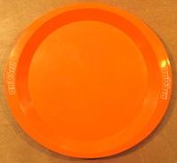 PLATEAU RICARD ANISETTE LIQUEUR ( EN PLASTIQUE COULEUR ORANGE ) / MADE IN FRANCE DEPOSE - Dishware, Glassware, & Cutlery