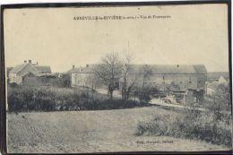9103. ABBEVILLE LA RIVIERE . VUE DE LA FONTENETTE.  RECTO/VERSO.  EDIT. HARSANT. TABACS - France